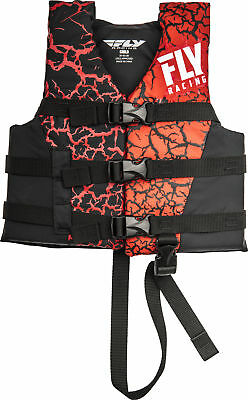 Fly Racing Child Life Vest Red/Black 30-50 lbs