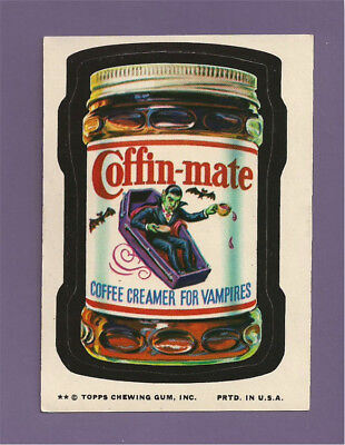 1974 Topps Wacky Packages Series 10 COFFIN MATE