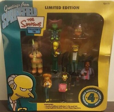 The Simpson's limited edition collector's Tin series 4