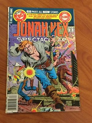 DC Special Series #16 Jonah Hex Spectacular  Death FN