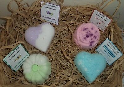 Luxurious Bubble Bath Bombs Enriched With Essential & Fragrant Oils