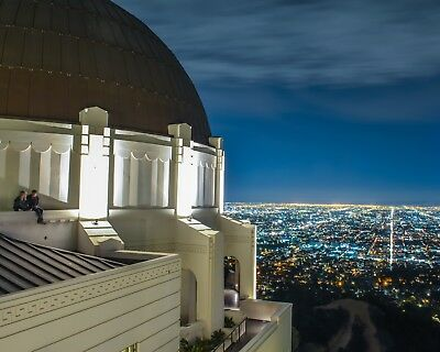 Los Angeles Griffith Observatory Poster Photo Print 16x20