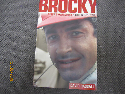 Brocky Peters Own Story A Life In Top Gear Peter Brock Book Very Good Condition