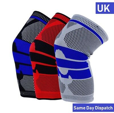 1X Compression Knee Support Sleeve for Sports Running Joint Pain Sprain Brace