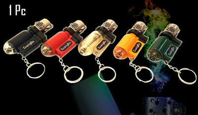New Jet Flame Refillable Butane Gas Cigarette Cigar Windproof  Lighter Torch UK