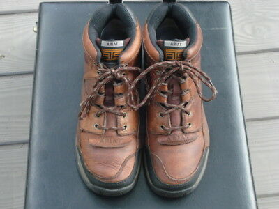 Ariat 70063 Womens Size 7 BATS Terrain Brown Leather Lace Up Hiking Boots