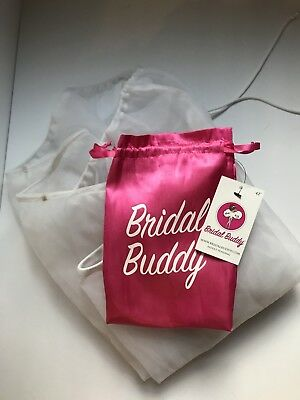 AUTHENTIC Bridal Buddy Wedding Formal Dress Bathroom Toilet Helper Petticoat OS