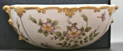Delicate Classy Vintage Japanese Hand Painted Porcelain Wall Vase