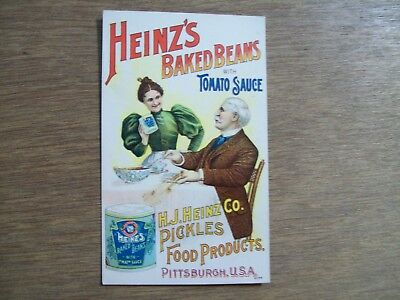 Heinz Baked Beans With Tomato Sauce Trade Card