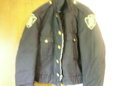 Used Police Jacket Wool  Navy Ike Jacket Flint