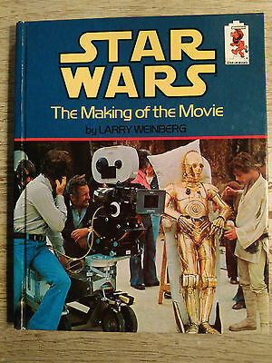 Star Wars : The Making of the Movie hardback book 1980 Not a library copy!