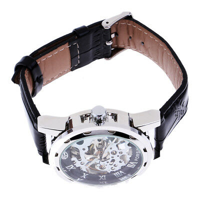 Mechanical Skeleton Watch Gift for Your Husband Boyfriend Father and Friends
