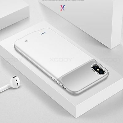 For Apple iPhone X Battery Case Rechargeable Charger Portable Charging Cover