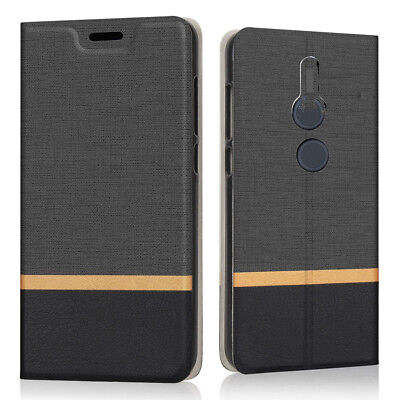 Case For Xperia XZ 2 Wallet PU Leather Cardholder Stand Flip Case For Xperia XZ2