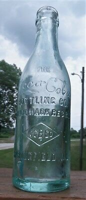 SPRINGFIELD ILLINOIS...RARE..SS, THE COCA-COLA, CCBCO...Embossed Diamond