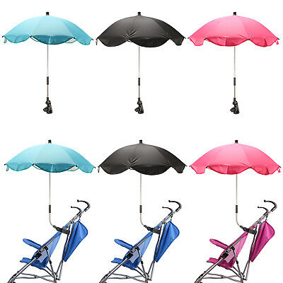 Pushchair Umbrella UV Rays Rain Sun Canopy Wheelchair Baby Stroller Parasol