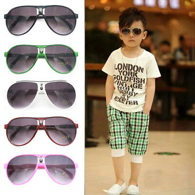 Fashion ANTI-UV Sunglasses Child Kids Boys Girls Shades Baby Goggles Glasses