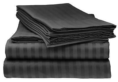 Split King Sheet Set Flat Fitted Bedding Sheets Pillow Case Hypoallergenic  Bed