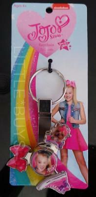 BJOJO SIWA Fidget Spinner KeyChain NIP key chain backpack clip bow puppy shoe