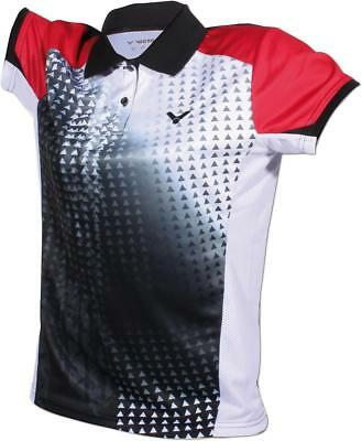 VICTOR Damen Badminton Shirt Indonesia Team Wear 2014 Trikot 6404 schwarz Gr. L