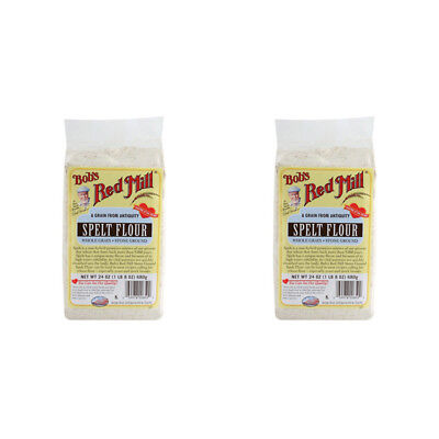 2X Bob's Red Mill Spelt Flour Mixes Whole Grain Stone Ground Bread Baking Food