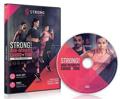 Zumba: Strong By Zumba - High-Intensity Cardio + Tone Used - Very Good Dvd