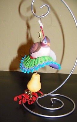 DEPARTMENT 56 Twelve Days of Christmas - Partridge and Pear Tree Ornament