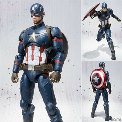 6'' S.H.Figuarts Captain America Civil War Figure SHF Action Collection Toy Doll