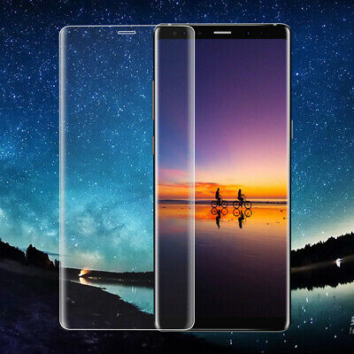 For Samsung Galaxy Note8 S10 9 Full Curved Tempered Glass Screen Protector Clear