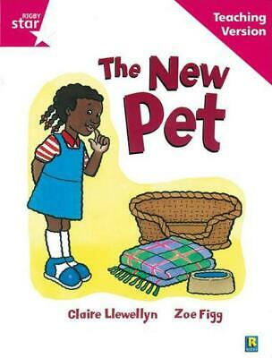 Rigby Star Guided Reading Pink Level: the New Pet Teaching Version Paperback Boo