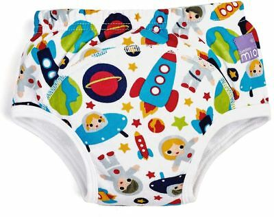 Bambino Mio REUSABLE POTTY TRAINING PANTS OUTER SPACE Kids Toilet Training BN