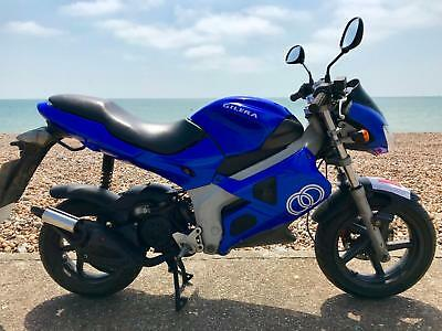 Gilera DNA 50 **Increaingly rare 50cc Automatic Motorbike ride on CBT**
