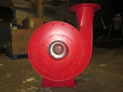 """NY New York Pressure Blower 7.5 HP Baldor - 3500 RPM - 8"""" Inlet & 8"""" Outlet NOS"""