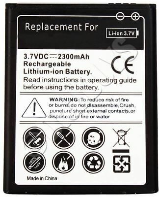 High Capacity Replacement Battery for Samsung Galaxy S3 i9300 2300 mAh UK