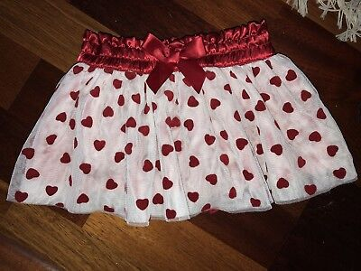 NEW Baby Skirt Size 6 Months Girl's Hearts