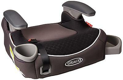Graco Backless Kids Booster Car Seat Latch System Cup Holder Storage Davenport