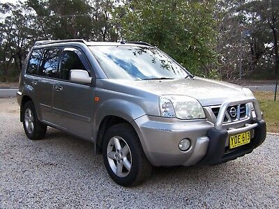 "NISSAN X TRAIL 2002 ""TI"" 5 Speed Manual NSW Registration"