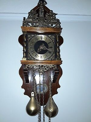 dutch zaandam atlas clock working order
