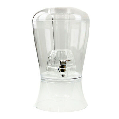 9L Drinks Dispenser Jug Infuser Cocktail Chiller Punch With Tap Ice Storage Box