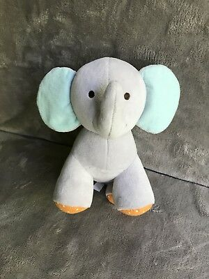 Carter's Child Of Mine Musical Windup Elephant Plush Plays Brahms Lullaby