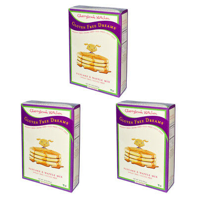 3X Cherrybrook Kitchen Gluten Wheat Free Dreams Pancake Waffle Mix Vegan Daily