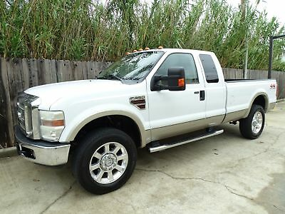 Ford Super Duty F-350 SRW Lariat 2008 Ford F350 Lariat 4x4 6.4L Powerstroke Turbo Diesel Engine Leather Interior