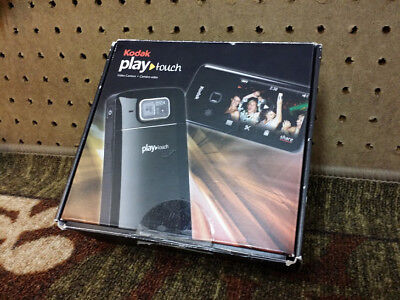 Kodak Play Touch HD Video/Still  camera with box, accessories-sharing capability