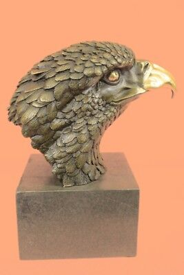Hand Made Eagle Handcrafted Beautiful Bronze Statue Brand New Hotcast Art BW