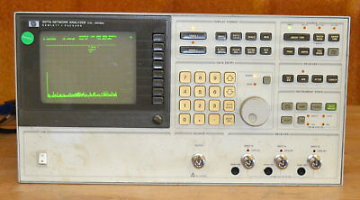 HP Agilent 3577A Low Frequency Network Analyzer 5hz-200MHz, Tested GOOD