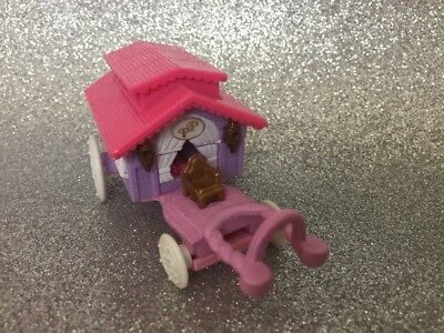 Vintage Polly Pocket Bluebird Circus Wagon On The Go Caravan