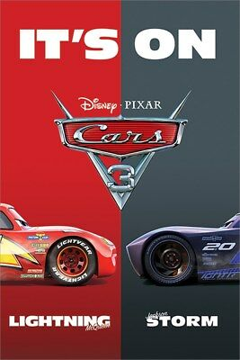 Cars 3 It's On Maxi Poster 61 x 91,5 cm