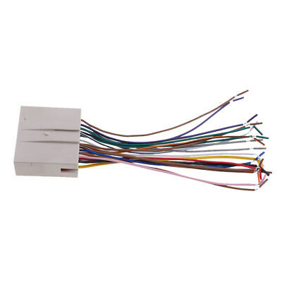 CAR RADIO INSTALLATION Wiring Harness Cable for Honda Accord ... on