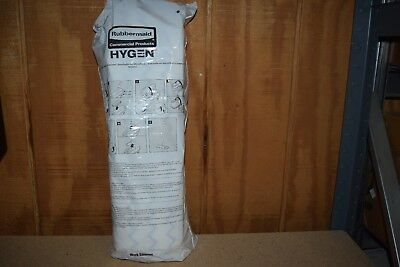 50 Pack Rubbermaid Hygen Disposable Microfiber Mop 1822352