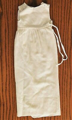 CC41 baby gown vintage 1940s wartime wool nightie DISPLAY ONLY utility clothes